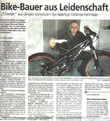 Bericht S?dwestpresse