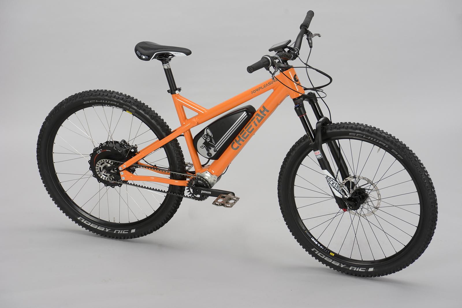 E-MTB mit Zahnriemen Archive - Cheetah Bikes