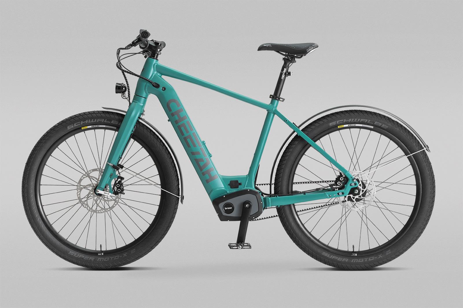 CHEETAH Bike Neuheit: stylisches E-City mit Brose Drive S und Rohloff